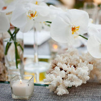 Reception, Flowers & Decor, white, silver, Flowers