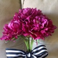 Flowers & Decor, pink, purple, Bride Bouquets, Flowers, Bouquet, Peonies, Peony, Touch, Real