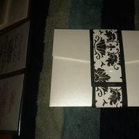 white, black, Invite, Inspiration board