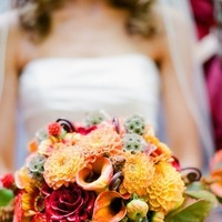 yellow, Fall, Bouquet, Bridal, Nicole ryan
