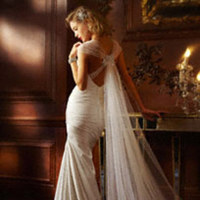 Ceremony, Flowers & Decor, Wedding Dresses, Fashion, white, dress, Wedding, 2
