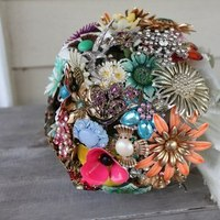 Flowers & Decor, Jewelry, Brooches, Flowers, Bouquets, Brooch