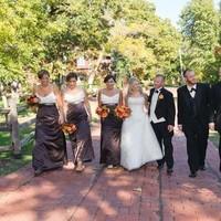 Flowers & Decor, Bridesmaids, Bridesmaids Dresses, Fashion, Bridesmaid Bouquets, Fall, Flowers, Fall Wedding Flowers & Decor, Bridal party, Flower Wedding Dresses, Fall Wedding Dresses