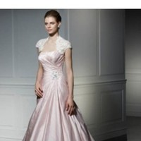 Wedding Dresses, Fashion, pink, dress, Beaded