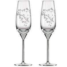 Reception, Flowers & Decor, ivory, Spring, Garden, Flowers, Garden Wedding Flowers & Decor, Champagne, Kate, Flutes, Street, Spade, Gardner