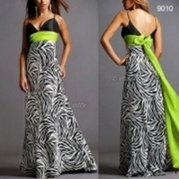 Bridesmaids, Bridesmaids Dresses, Fashion, green, black, Lime, Zebra print
