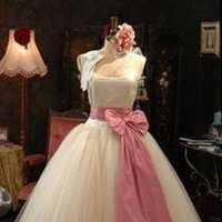 Bridesmaids, Bridesmaids Dresses, Fashion, white, pink