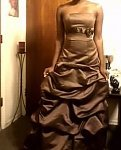 Wedding Dresses, Fashion, brown, dress, My