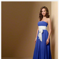 Bridesmaids, Bridesmaids Dresses, Wedding Dresses, Fashion, white, blue, dress, Alfred, Angelo