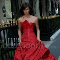 Wedding Dresses, Fashion, red, dress, Wedding