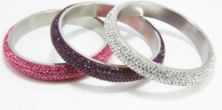 Jewelry, white, pink, purple