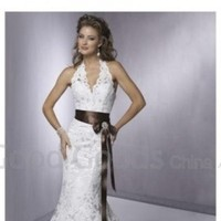 Ceremony, Flowers & Decor, Wedding Dresses, Fashion, white, dress, Wedding, From, Goodgoodschinacom, Laced