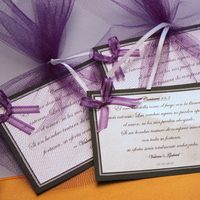 Favors & Gifts, purple, gold, Favors