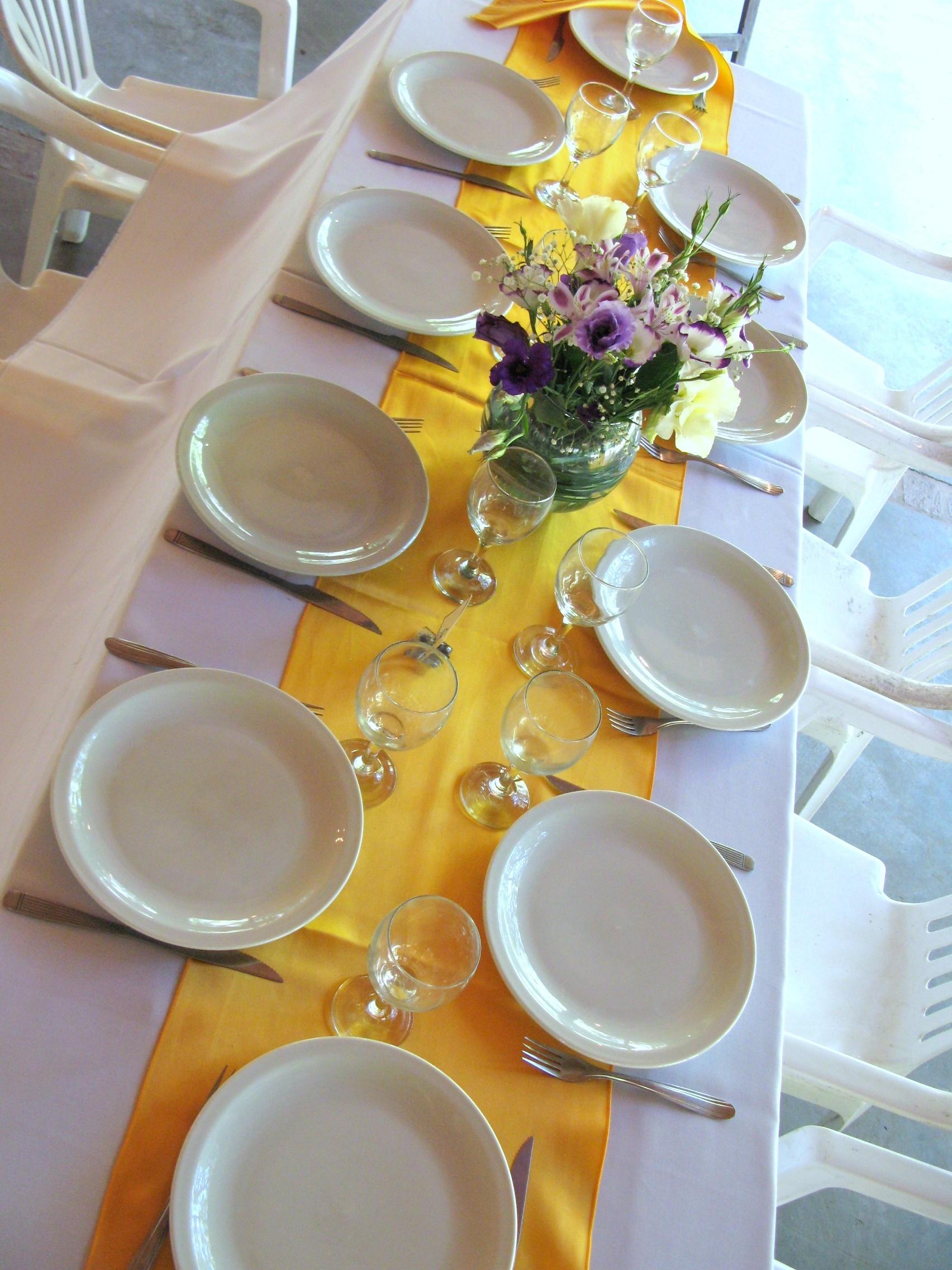 Reception, Flowers & Decor, white, purple, gold