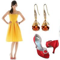 Wedding Dresses, Fashion, yellow, dress