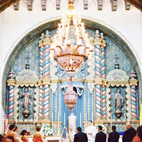 Ceremony, Flowers & Decor, Bride, Vows, Ornate, Cathedral, Broom, Marbella frank