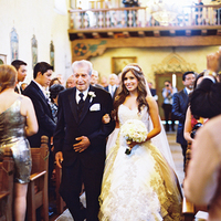 Ceremony, Flowers & Decor, Bride, Father, Aisle, Walk, Marbella frank