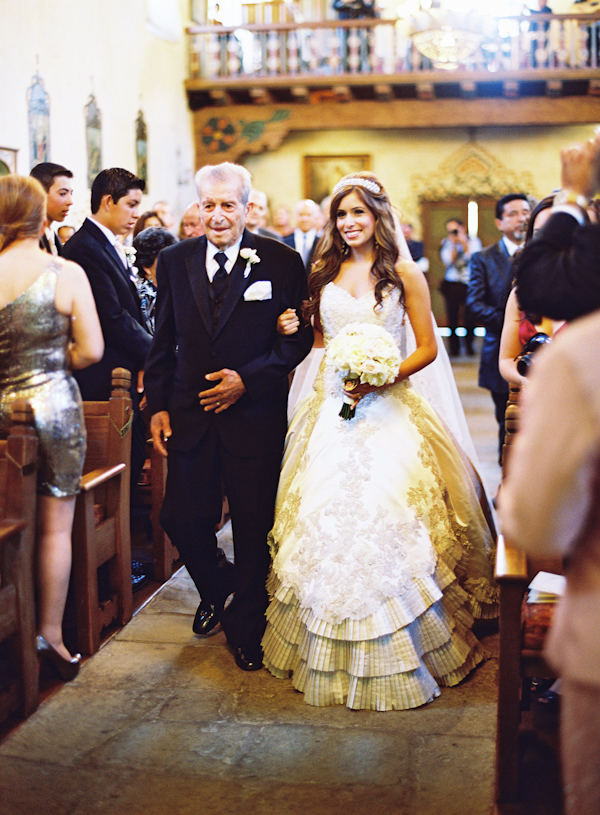 Ceremony, Flowers & Decor, Bride, Father, Aisle, Walk, Marbella frank