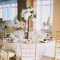 Reception, Flowers & Decor, Centerpieces, Tables & Seating, Flowers, Centerpiece, Table, Chairs, Settings, Marbella frank