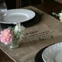 brown, Rustic, Wedding, Table, Burlap, Inspiration board, Runners