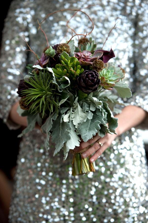 purple, green, Sequins, Succulent, Jessica erika