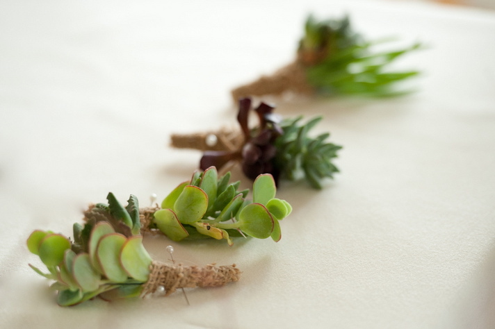 Flowers & Decor, green, Boutonnieres, Succulent, Jessica erika