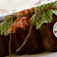 Favors & Gifts, Favors, Personalize, Jam, Gingham, Jessica erika