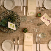 green, Menus, Table, Beige, Runner, Jessica erika