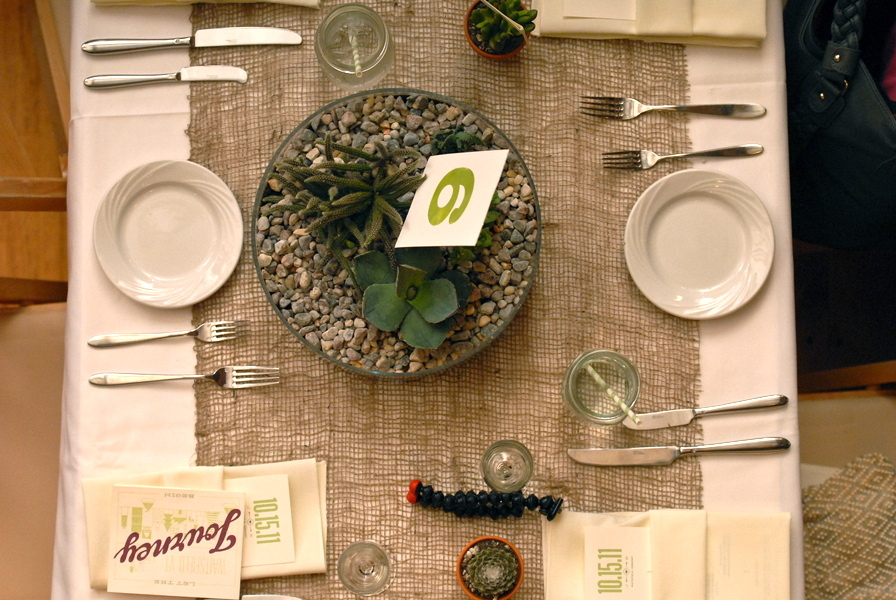 Reception, Flowers & Decor, green, Beige, Burlap, Tablescape, Jessica erika