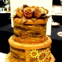 Cakes, brown, cake, Steampunk, Dummy