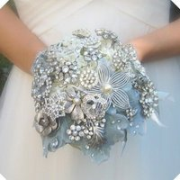 Flowers & Decor, Jewelry, white, silver, Flowers