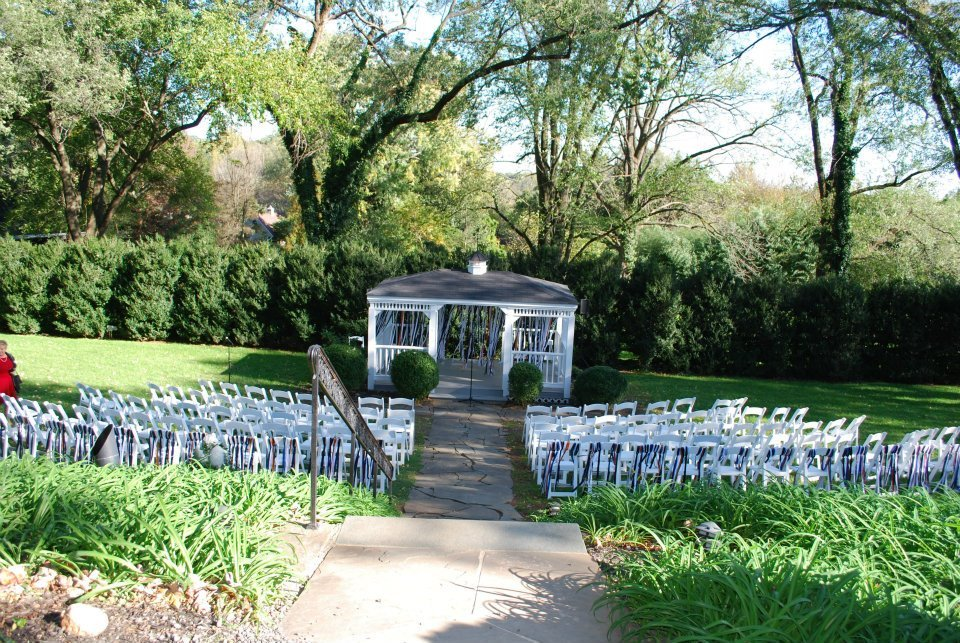 Ceremony, Flowers & Decor, white, orange, blue, Tables & Seating, Chairs, Ribbon
