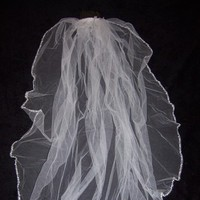 Ceremony, Flowers & Decor, Veils, Fashion, white, Bride, Veil, Bridal, Davids