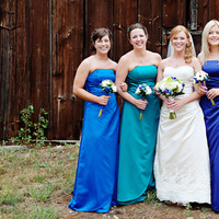 Bridesmaids, Bridesmaids Dresses, Fashion, purple, blue