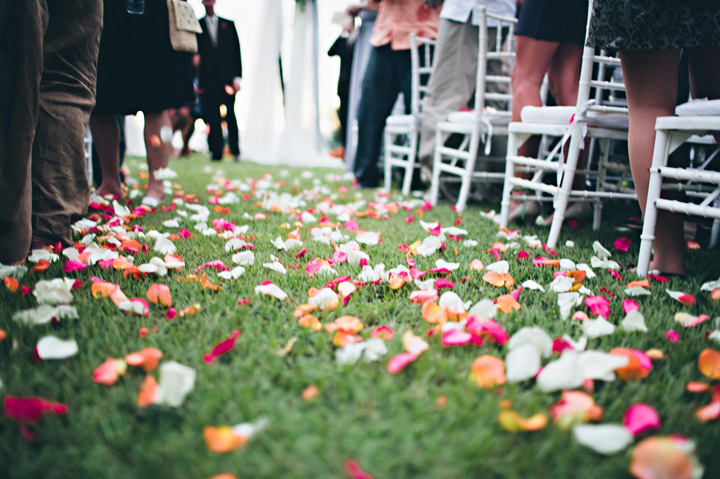 Ceremony, Flowers & Decor, Destinations, purple, green, Destination, Colorful, Beige, Petals, Aisle, Walk, Film, Sara jeremiah