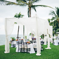 Reception, Flowers & Decor, Destinations, white, purple, green, Destination, Colorful, Beige, Lounge, Film, Sea, Canopy, Décor, Sara jeremiah