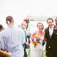 Ceremony, Flowers & Decor, Destinations, purple, Bride, Groom, Destination, Colorful, Beige, Aisle, Walk, Film, Smiles, Sara jeremiah