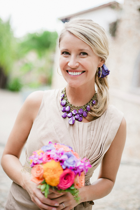 Destinations, purple, Accessories, Bridesmaid, Destination, Colorful, Beige, Necklace, Film, Sara jeremiah