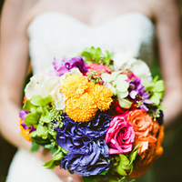 yellow, pink, purple, green, Bouquet, Colorful, Sara jeremiah