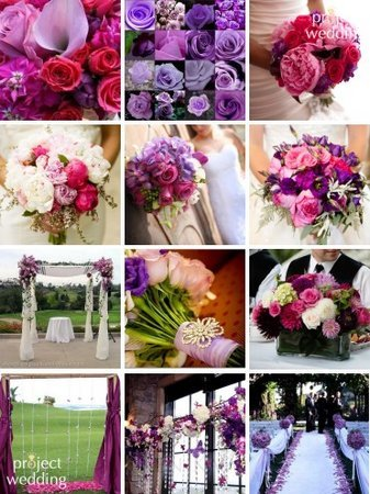 Flowers & Decor, white, pink, purple, Flowers