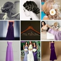 Bridesmaids, Bridesmaids Dresses, Wedding Dresses, Fashion, yellow, pink, purple, dress, Inspiration board