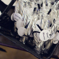 DIY, Favors & Gifts, white, black, favor, Candy, Chessie pasquale