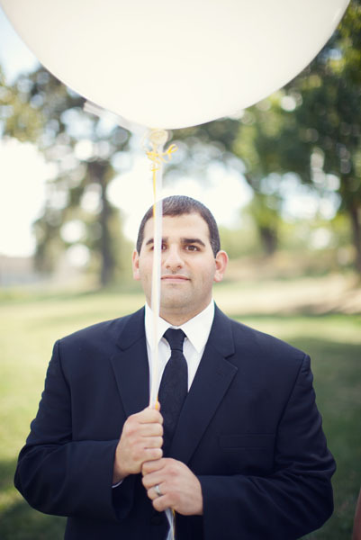white, black, Groom, Portrait, Balloon, Chessie pasquale