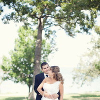 white, black, Bride, Groom, Portrait, Chessie pasquale