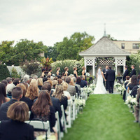 Ceremony, Flowers & Decor, white, black, Bride, Father, Chessie pasquale