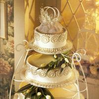 Cakes, yellow, silver, cake