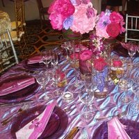 Reception, Flowers & Decor, white, yellow, pink, purple, Flowers, Inspiration board