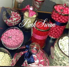 white, pink, Table, Candy, Buffet, Rental, Bar, Dc, Sweethear, Cany