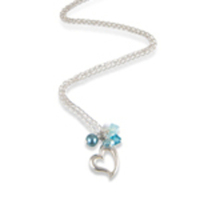 Jewelry, blue, silver