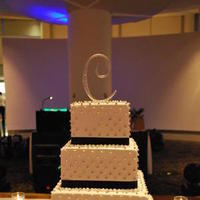 Cakes, blue, silver, cake